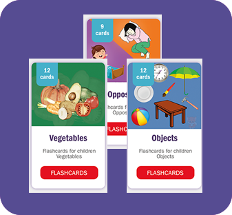 RedFox education flashcards for children and all